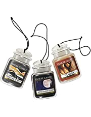 Yankee Candle Car Jar® Ultimate, Turquoise SkyTM - Vela aromática en Tarro, Car Jar | 3-Pack, 1, 1