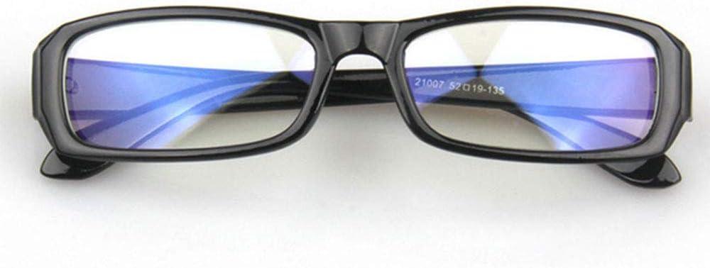 R/éduisez la Fatigue des Yeux et Les maux de t/ête Protection UVA et UVB Noir Lunettes Anti-radiations Vision Noires pour Ordinateur Style Unisexe