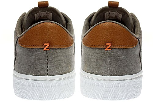 HUB KOOK M C06 - Herren Schuhe Sneaker Schnürer - M27E1C06 greyish-wht