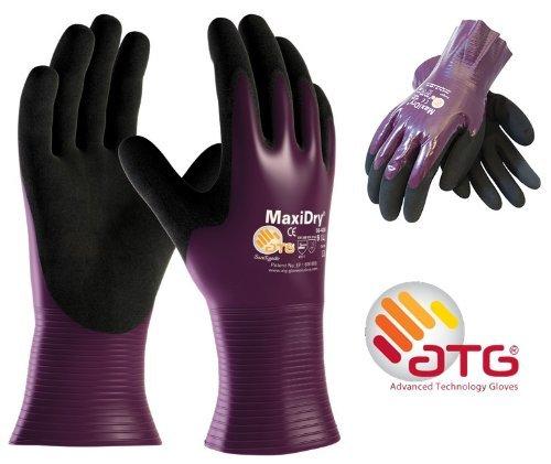 MaxiDry Palm Coated - 56-426 Nitrile Foam Palm Coated Work gloves - 11/XXL ATG