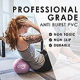 9 Inch Barre Pilates Ball & Hand Pump– Anti Burst