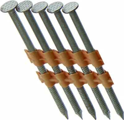 Grip Rite Prime Guard MAXC62906 21-Degree Plastic Strip 3-1/4-Inch by .131-Inch Ring Shank 316 Stainless Steel Framing Nails, 1,000 Per Box from Grip Rite Prime Guard