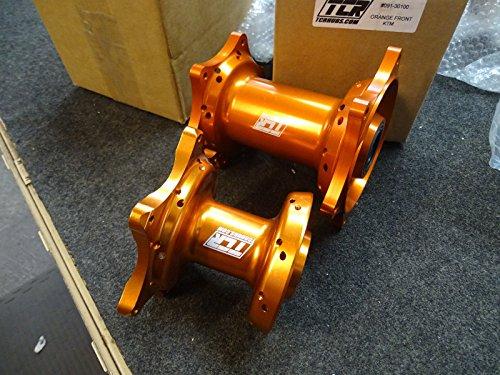 TCR Front & Rear Set Wheel Hubs KTM Orange 125 250 300 350 450 525 SX SXF 07-16 by TCR (Image #6)