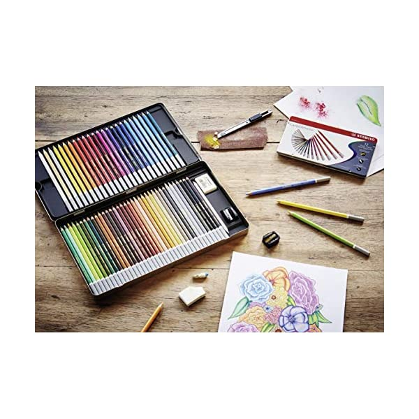 Stabilo-Carbothello-Pastel-Pencil-60-Color-Set
