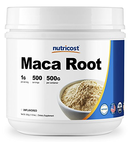 Nutricost Pure Maca Root Powder (500 Grams)