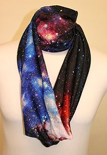 Infinity Scarf Jersey Or Chiffon Elvis Coloured Check Fashion Loop Scarves