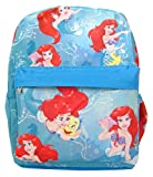 Disney Ariel Mermaid Allover Print 12 inch Girls Small Backpack