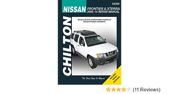 Amazon Com Chilton 52320 05 14 Nissan Frontier Xterra Automotive Rh Amazon  Com 2008 Nissan Xterra Factory Service Manual 2006 Nissan Xterra
