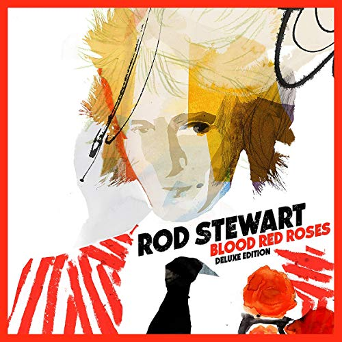 Blood Red Roses by Republic/Rod Stewart/Decca