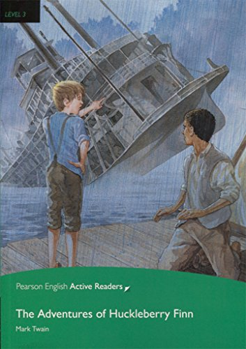 Level 3: The Adventures of Huckleberry Finn Book and Multi-ROM with MP3 Pack (Pearson English Active Readers, Level 3)