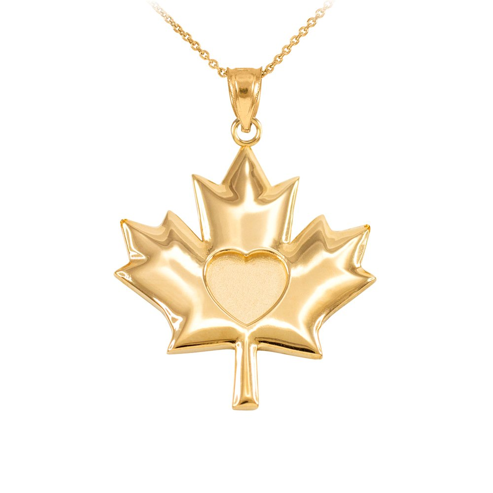 untitfdfdfdled necklace maple jewellery canadian pendant chain s gold products leaf noura