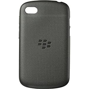 BlackBerry Soft Shell Case Cover for BlackBerry Q10 - Black