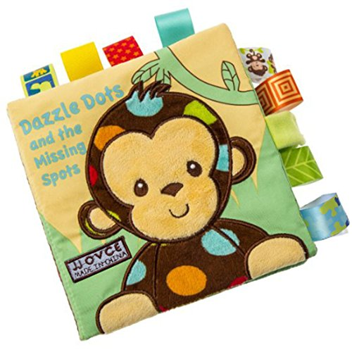 Soft Book Crinkle Cloth Book Baby Toy, Animal Puzzle Cloth Book Cloth Development Books. (Monkey)