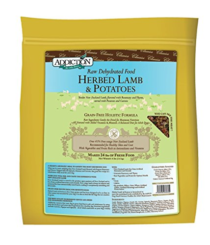 Herbed Lamb & Potatoes- 8lb Dehydrated Dog Food