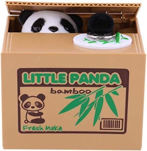 Hucha, Robo de Dinero Banco Moneda Panda Box Robo automático Caja de Ahorro Regalo para niños pequeños Niños (baterías no Incluidas): Amazon.es: Hogar