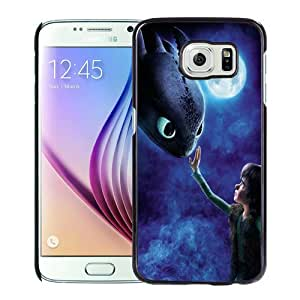 WANY Beautiful Classic How To Train Your Dragon 1 Black Samsung Galaxy S6 Case