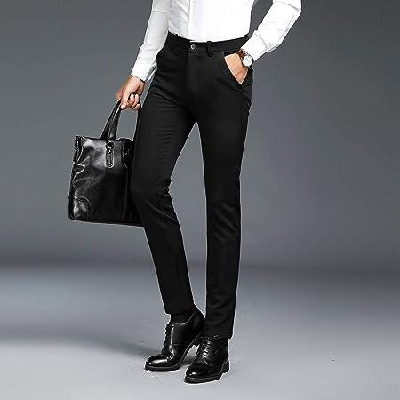 Kadola Pantalones de Vestir para Hombre, Lisos, Informales ...