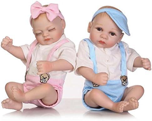 Amazon.es: Terabithia Mini 10 Inch Alive Reborn Bebé niña muñecas de ...