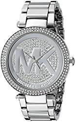 Michael Kors Women's MK5925 Parker Silver-Tone Stainless Steel Watch