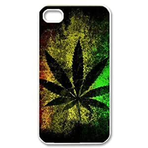 CTSLR iphone 4 4S 4G Case - Back Proctive Case with Images - Protective Hard Plastic Phone Case - Cool Rasta Reggae (16.39) - 04