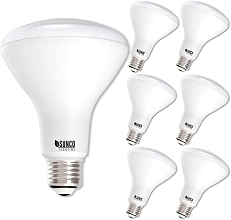 E26 Base Sunco Lighting 10 Pack BR30 LED Bulb 11W=65W UL /& Energy Star 2700K Soft White Indoor Flood Light for Cans Renewed 850 LM Dimmable