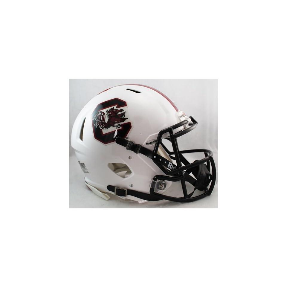 South Carolina Gamecocks Riddell Speed Revolution Full Size NCAA Authentic Football Helmet