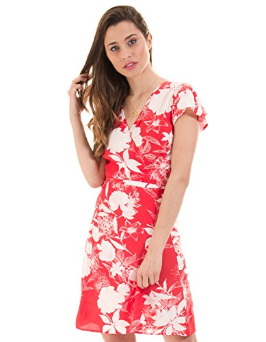 Dress Vila Vikarman Floral By Red Clothes