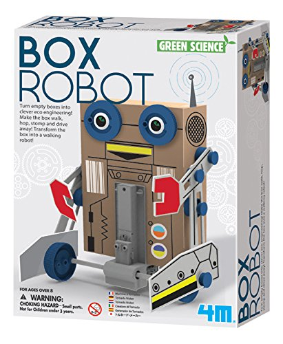 Rocket Science Kit Star (4M Box Robot Kit Learning-and-Development-Toys)