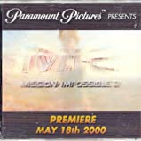 Mission: Impossible 2, 3-D cover