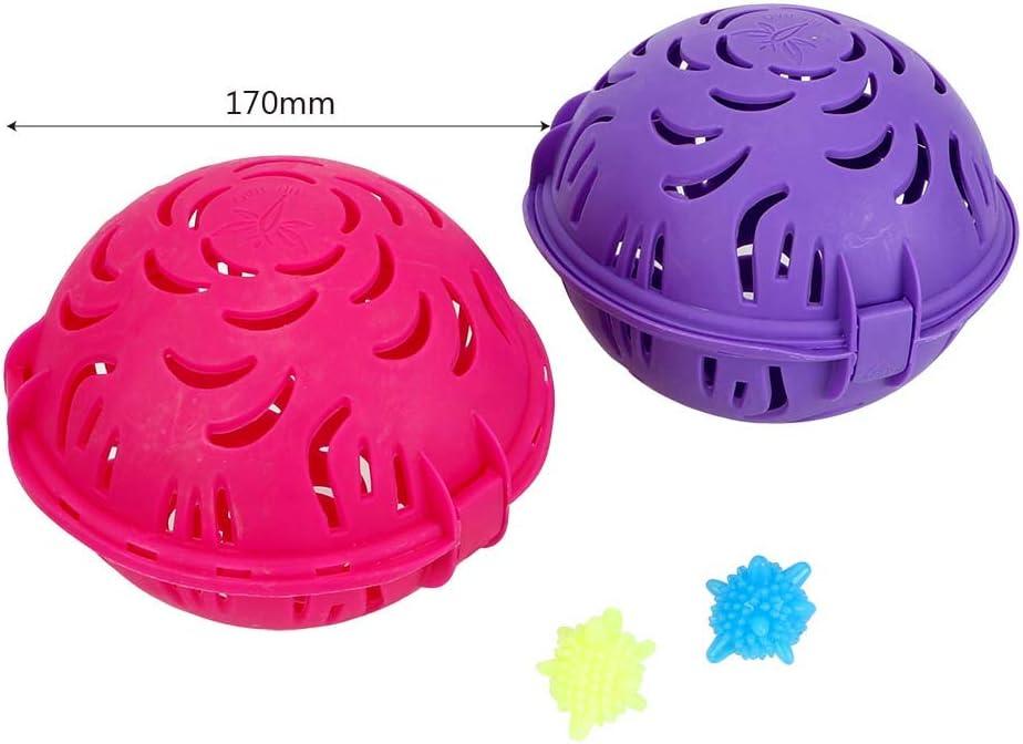 laveuse iTimo Bra Boule /à Linge pour Soutien-Gorge Plastique PP Double Balle r/éutilisable