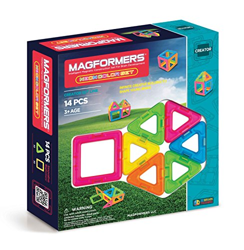 Magformers Neon Set 14 Piece