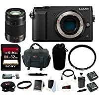 Panasonic DMC-GX85KBODY Lumix 4K Mirrorless Body, H-HS35100 35-100mm f/2.8 Lumix