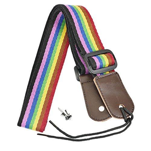 Artempo Cotton Ukulele Leather Rainbow