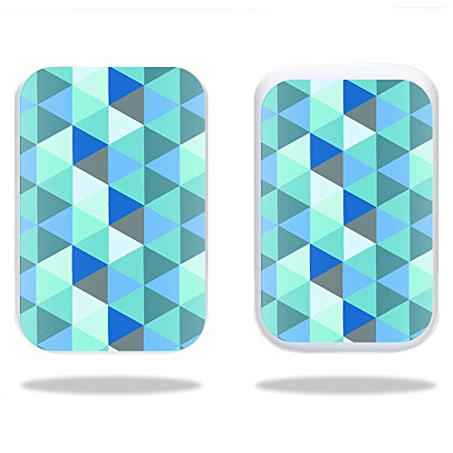- MightySkins Protective Vinyl Skin Decal for HP Sprocket wrap Cover Sticker Skins Blue Kaleidoscope