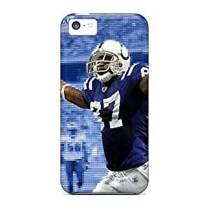 New Arrival Cover Case With Nice Design For Iphone 5c- Indianapolis Colts
