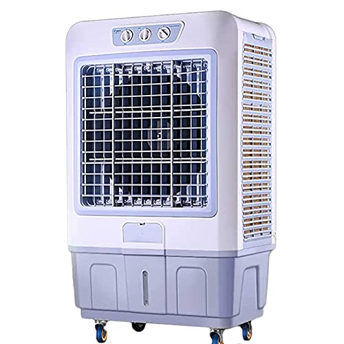 Evaporative Air Cooler – Portable Mobile Electric Humidifie Industrial Commercial Air-Conditioning Fans with 3 Fan…