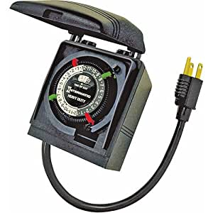 intermatic hb35r outdoor electromechanical timer wall