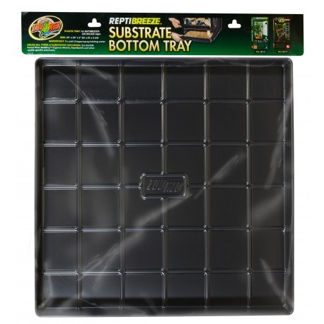 Zoo Med ReptiBreeze Substrate Bottom Tray, X-Large Fits NT13 NT17 24 L x 24 W x 2 H