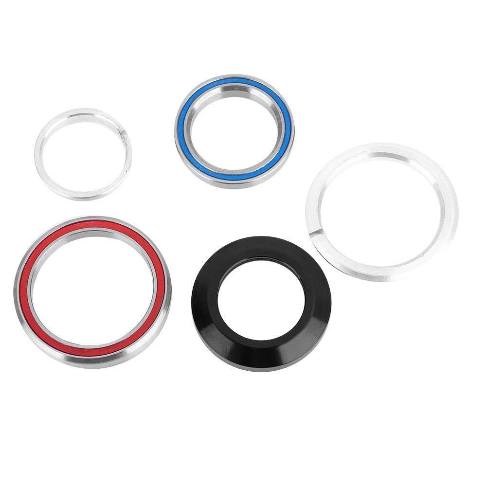 Aluminium Alloy External Threadless Bearings Headset Top Cap Fork Expander for Mountain Road Bike VGEBY Bicycle Headset