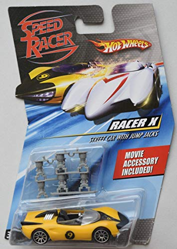 Used, Hot Wheels Speed Racer Racer X Street CAR with Jump for sale  Delivered anywhere in USA