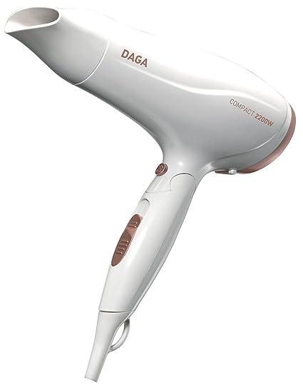 Daga HD-2200- Secador de Viaje Plegable 2200W y 2 Velocidades/Temperaturas