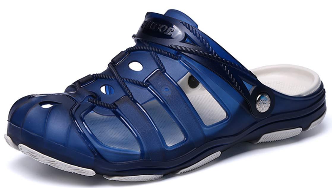 Sooneeya Men's Clogs Anti-Slip Beach Shower Sandals Slip onWalking Slippers Summer Shoe Outdoor