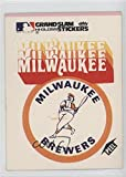 Milwaukee Brewers (White Background) (Baseball Card) 1978 Fleer Grand Slam Hi-Gloss Team Stickers - [Base] #MIL.2