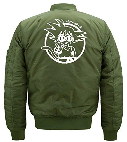 Autunno Militare Di Pattern Dragon Di Calde Verde Trapuntato Cappotto Invernali Wu Esterno Blouson Ball Impermeabile Giacche Spessore Di Volo Mens Classico Di Parka Modo Bomber 7096 Militare Stampa qwX75