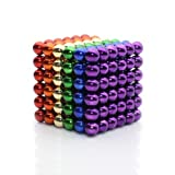 Magnetic Cube, 2018 New Arrival Daluo 216pcs Rolytoy Magnets Blocks Magnetic Sculpture Holders