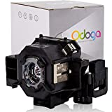 Odoga® Epson PowerLite S5 / S6 / W6 / 77C / 78 / Home Cinema 700 Compatible Projector Lamp