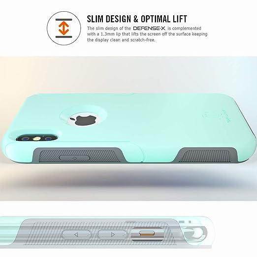 Amazon.com: Funda para iPhone X de lujo TEAM, [Defense-x ...