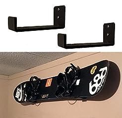 Snowboard Wall Mount | Display Wall Rack...