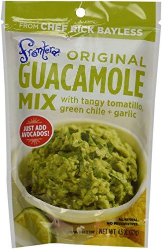 (Frontera Foods Inc. Guacamole Mix, Pouch, 4.50-Ounce (Pack of)