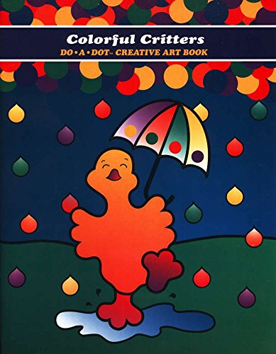Colorful Critters Do-A-Dot Art Creative Activity (Toddlers Halloween Craft Activities)